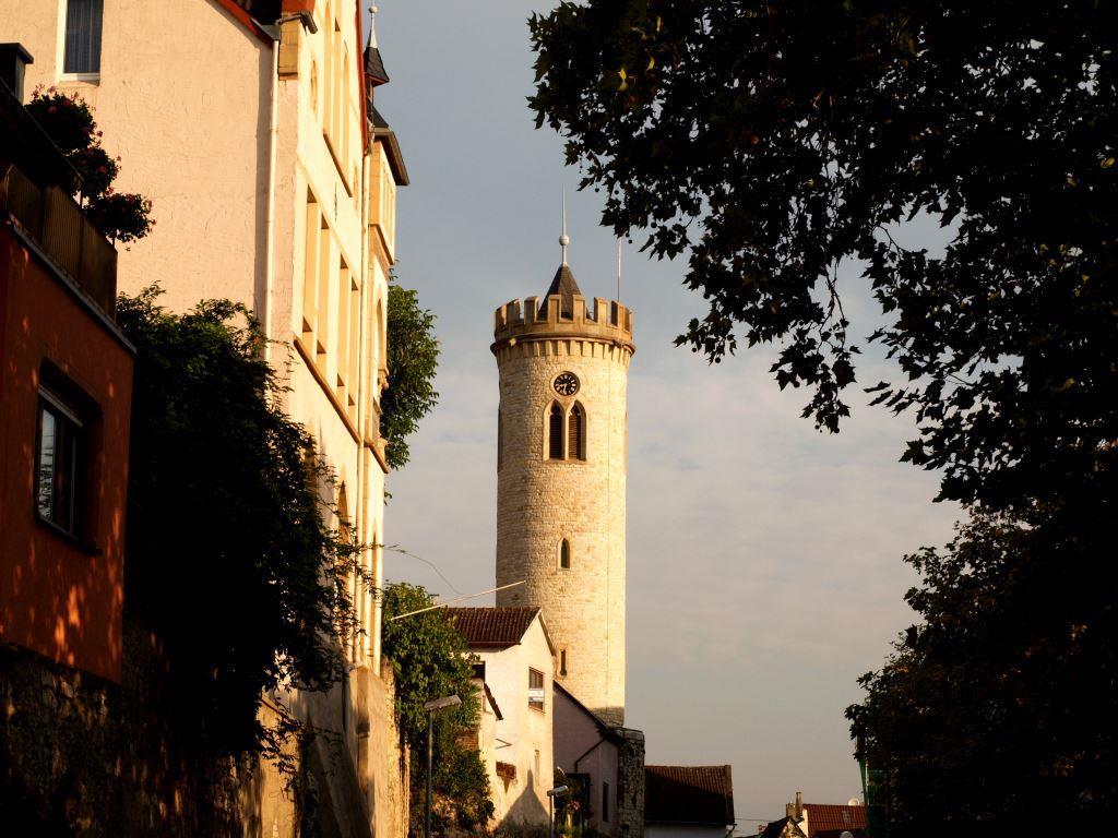 Der Uhrturm in Oppenheim